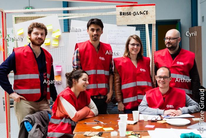 Les Brise Glace (équipe rouge), Gare Remix St Paul - Lyon, France - 24.04.2015